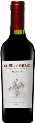 EL SUPREMO half bottle Malbec