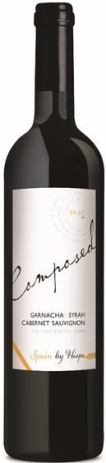 COMPOSED BY HISPA SPAIN Garnacha, Syrah, Cabernet Sauvignon